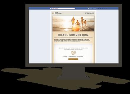 HILTON Facebook Sommerquiz